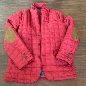 Tailorbyrd mens quilted puffer jacket size medium